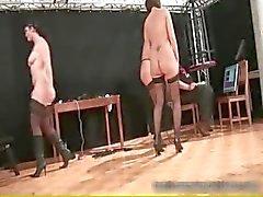 Tre heta sexiga stora tuttar fin kropp