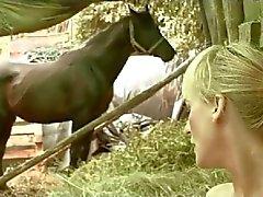 Volwassen Paar bij The Ranch Door TROC