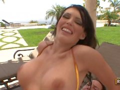 BigSausagePizza com Jenna Presley Cums For The Big Sausage