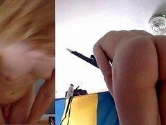 Diana Webcam MILF Aime Grand Gode Noir Dans Le Cul De