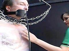 Esperma dona de e sexy em corporal