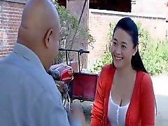 китайского Beauty Star секси грудного