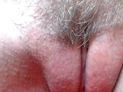 Hairy asian preggo masturbation up close