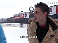 Schließlich hat den Winter in der Tschechischen Republik kommen. ich war