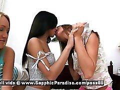Aly а Ириэ ана в Irene любители лесбиянки целуя и мастурбирует
