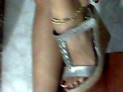 Fetichismo del pie, Stilettos , zapatos de plataforma , Tacones altos 39