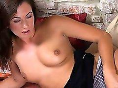 Чешский красота Tess зияющая ультра обрывок