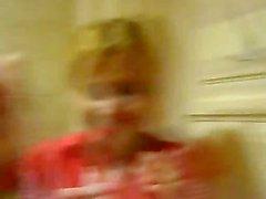niña vista en retretes bielorrusa del disco