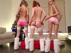 Trois beautés maigres Ivanka Twinkle Alisekis
