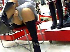 Upskirt panty