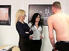 Cfnm birt mistress sopra