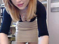 babe webcam chaude avec des jouets