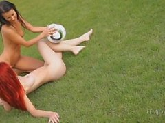 Melisa & di Ariel : ragazze soccer