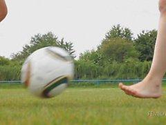 A melisa y de Ariel : Babes fútbol