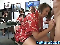 Pole comer Chicas partido aficionados