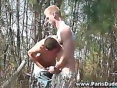 Ranskan homoja vittu ja Cumshot