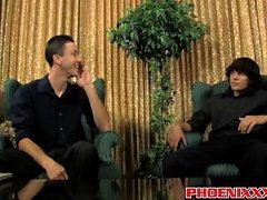 Danny Brooks e Jacob Marteny desfrutando fodendo anal intensa