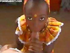 Hete Afrikaanse Vrouw