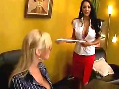 Abbey Brooks & Nina Mercedez