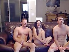 3some dp adolescente giovane