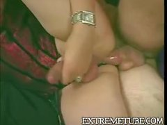 Busty Blonde Shemale In Lingerie Ass Penetrated
