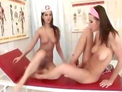 Eve Angel E Eufrat São enfermeiras quentes