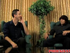 Danny Brooks och Jacob Marteny att njuta intense analknull