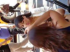 Эротические мексиканских сисек и задницу