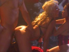 Jada Fire Jessica Drake and Lana Croft in hot orgy