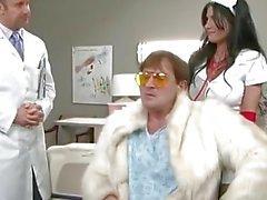 Rebeca Linaresin porn Hardcore oma sairaalaan