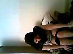 Arabiska Egyptens hustrun i slöja knullas grova och webbkamerasex