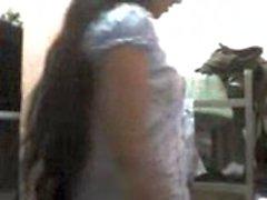 L'ufficio della ragazza Sri Lanka