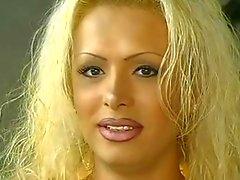 Hot Blonde Tranny Fucking Hairy Slut