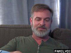 FamilyDick - Latin Twink Gets Rammed On Sofa