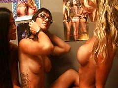 Janessa Brazil la 3some Lésbicas Destino de Dixon