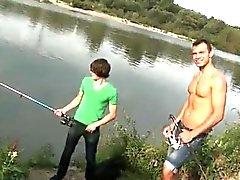 Schwänze Homosexuell Öffentlichkeit Anal Sex von The Lake!