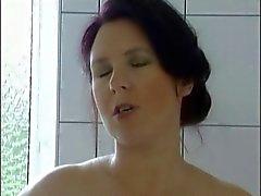 Bad neuken in zwarte nylons