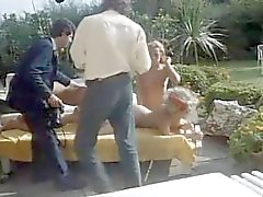 Vintage 80s Rocco Outdoor Orgy