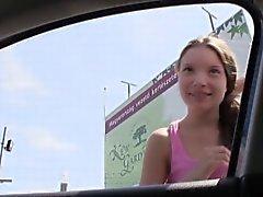 Hacer autostop de Hungría las adolescencias joder el POV exteriores