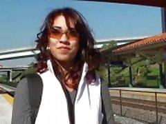 Amazing latina babe June Star picked up