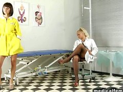 CFNM masaje prostático