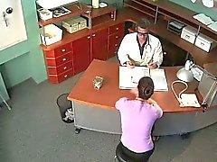 Security kammen fucking in falska sjukhuset