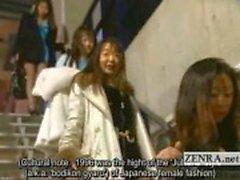 Legendado bizarro japonês todos audição nu striptease