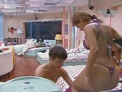 BBB10 Big Brother Бразилии десять Большие Bunda Бразилии Cacau Клаудия