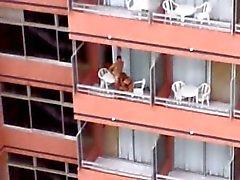 de Balcon del hotel de 2