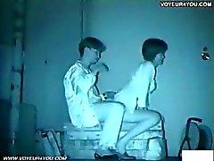 Infrarood camera voyeur parkbank sex