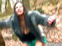 Brits Indisch Meisje Dogging