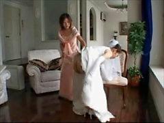 vestido de novia azotes