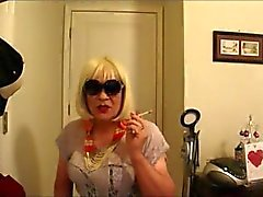 Slutty Vee Loves To Smoke