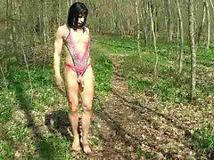 Stripper Stil, der Lolis Show